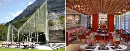 World's most beautiful new restaurants