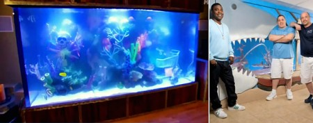 Wildest celebrity fish tanks