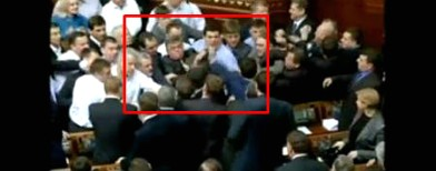 On cam: Fist fights in the Parliament