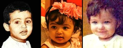 Who does Aaradhya resemble-Abhi or Ash?