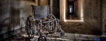 Ghostly images from abandoned hospital