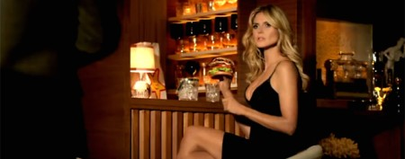 Sneak peek at Heidi Klum's sizzling new ad
