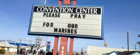 Slain Marines were young with bright futures
