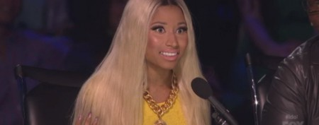 Nicki Minaj's naughty 'Idol' outburst