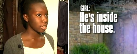 Teen's quick thinking helps catch intruders