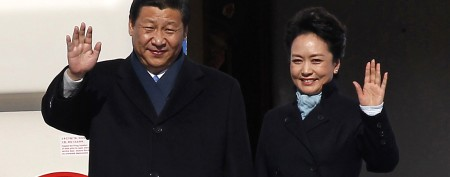 China's glamorous first lady an instant hit