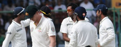 Aussies in a tailspin at the Kotla