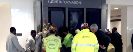 Boy killed in freak accident at airport
