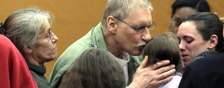 Sad turn of events for newly freed man