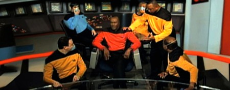 Critics in orbit over IRS 'Star Trek' video