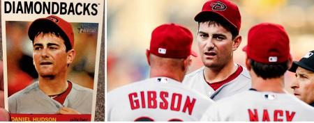 Rising star detests his new baseball card