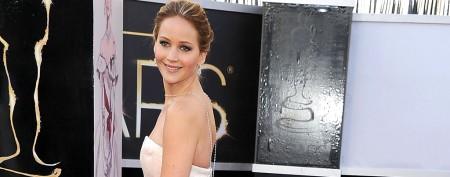 Jennifer Lawrence debuts sky-high hairdo