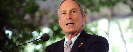 Bloomberg squares off with NRA chief