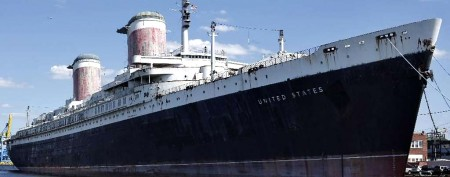 Final distress call for SS United States?