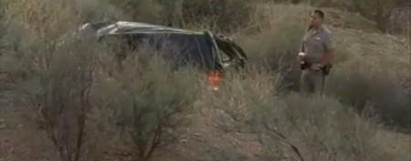 Nine-year-old survives deadly car crash