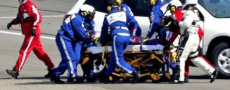 NASCAR star significantly injured in crash