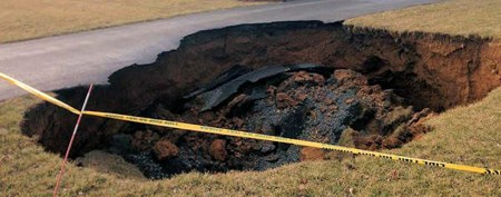 World's largest known sinkholes