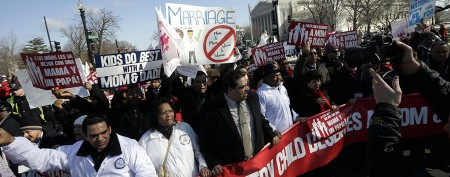 Supreme Court justices skeptical on Prop. 8