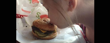 Autistic girl's touching 'broken' burger story