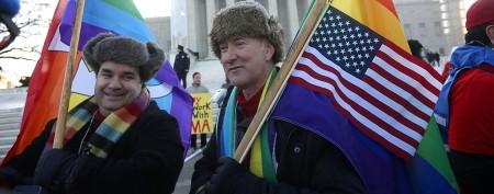 U.S. Supreme Court hears landmark Prop 8 case
