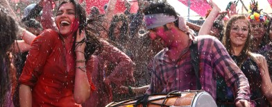 Ranbir-Deepika's early Holi