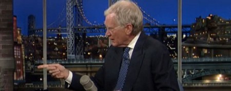Why Letterman banned guest from show