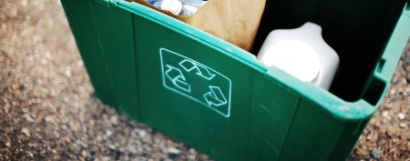 Woman's recycling drop-off causes a stir
