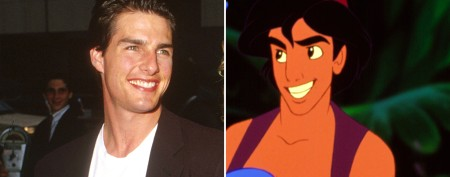 Actors who inspired Disney characters