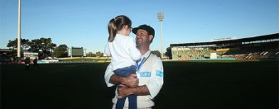 The trophy Ponting waited 20 years for
