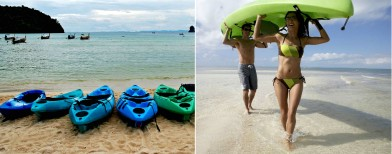 Learn kayaking in Goa this summer