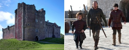 'Monty Python' castle in 'Game of Thrones'