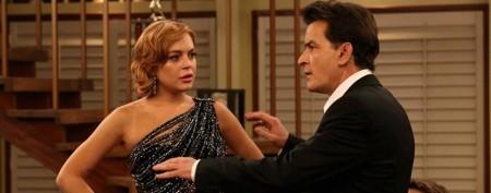 Lindsay Lohan's wisecrack to Charlie Sheen
