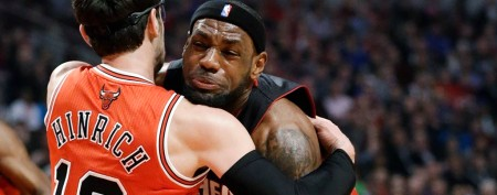 LeBron cries foul after Heat streak ends