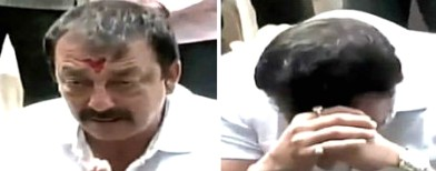 Video: Sanjay Dutt breaks down on camera
