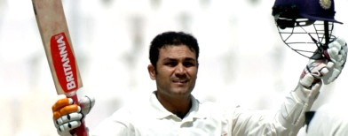 Sehwag does a first for Indian cricket