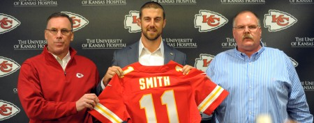 Chiefs have the upper hand in NFL draft