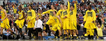 Michigan romps its way to Final Four
