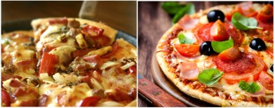 Top 3 healthy homemade pizzas
