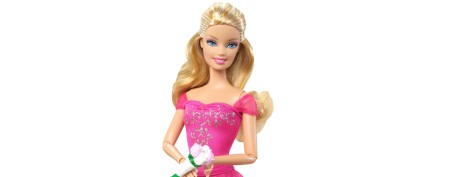See what Barbie looks like without makeup