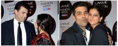Karan's kiss-miss and Vidya's PDA