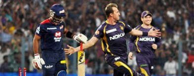 Defending champs KKR make tidy start