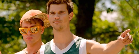 Taylor Lautner turns bully in new movie