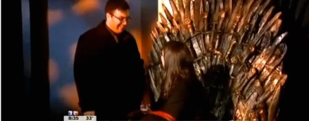 Hit TV show inspires unusual wedding proposal