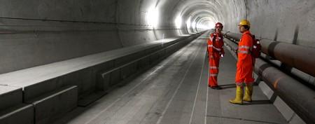 Inside the world's longest train tunnel
