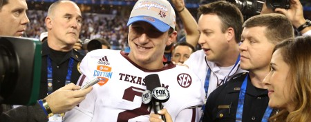 Johnny Manziel defends support of team's rival