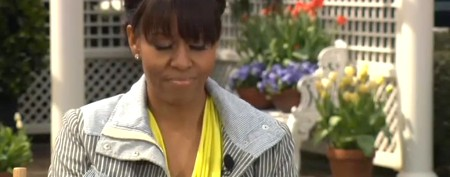 Michelle Obama's 'oops' moment on TV, While talking about managing
