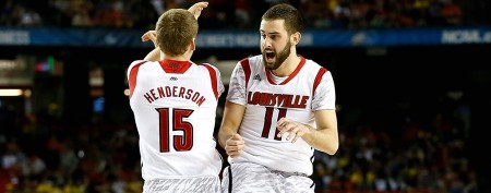 Louisville barely pulls out an NCAA thriller