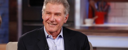 Harrison Ford blushes over anchor's 'crush'