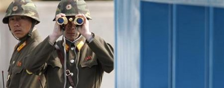 N. Korea warns foreigners to leave South