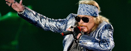 Axl Rose debuts new bobbed hairstyle
